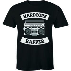 Hardcore Rapper - Rap Hip Hop Men's T-shirt Tee